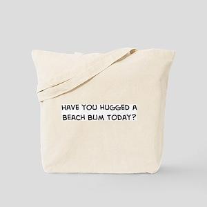 Hugged a Beach Bum Tote Bag