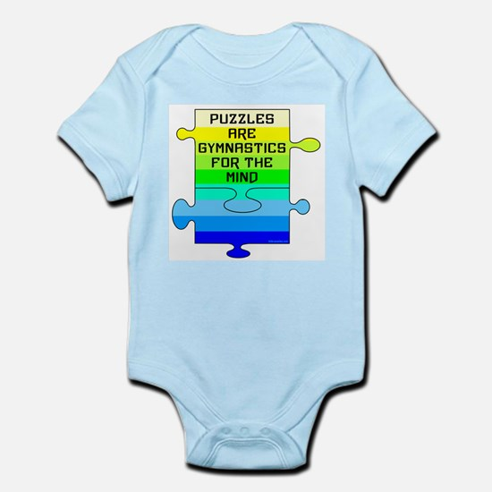 Jigsaw Puzzle Pieces Infant Bodysuit
