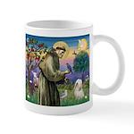 St. Francis & Tibetan Terrier Mug