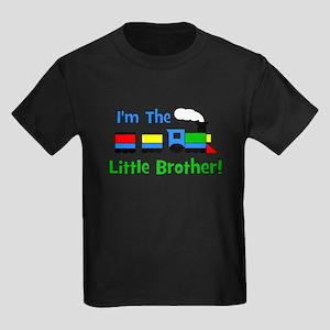 Little Brother TRAIN Kids Dark T-Shirt