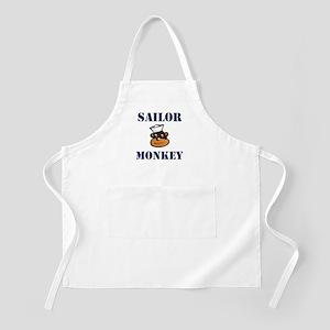 sailor monkey Apron