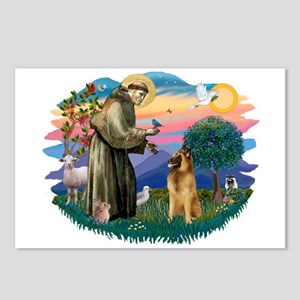 St Francis #2/ B Tervuren Postcards (Package of 8)