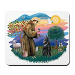 St Francis #2/ Belgian Shep Mousepad