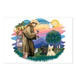 St Francis #2/ Scottys (2) Postcards (Package of 8