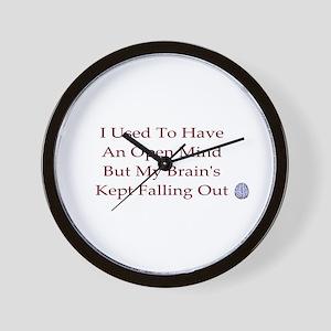 open mind ...  Wall Clock