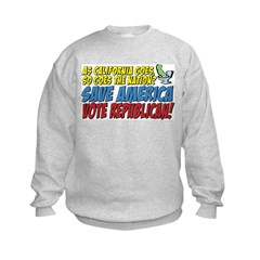 Save America, Vote Republican Sweatshirt