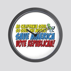 Save America, Vote Republican Wall Clock