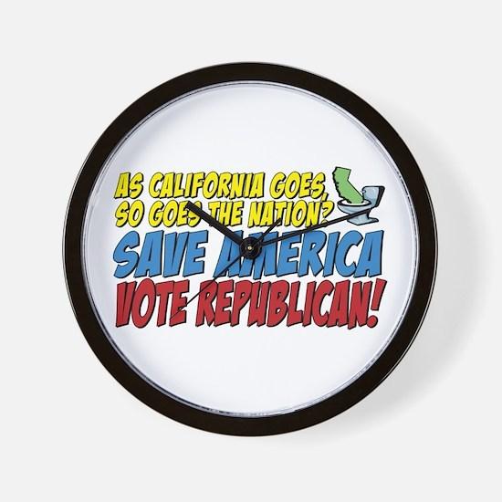 Save America, Vote Republican Wall Clock