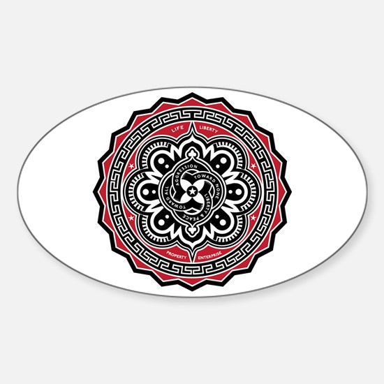 Liberty For All Sticker (Oval)