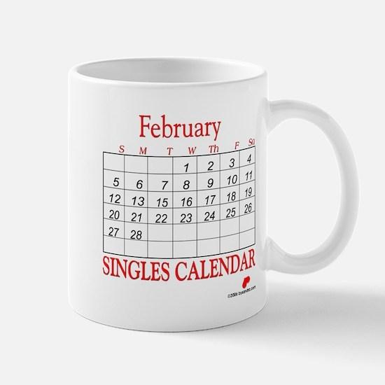Singles Calendar Mug