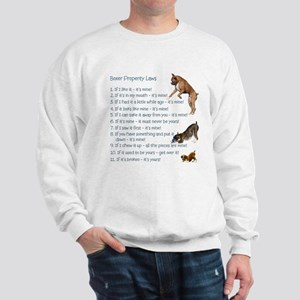 Boxer Rules Sweatshirt