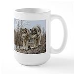 Pair of Wolves Mug