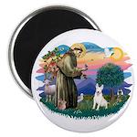 St Francis #2/ Bull T (#4) Magnet