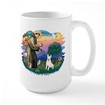 St Francis #2/ Bull T (#4) Large Mug
