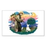 St Francis #2/ Bull T (#4) Sticker (Rectangle)