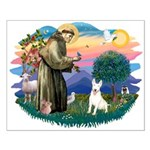 St Francis #2/ Bull T (#4) Small Poster
