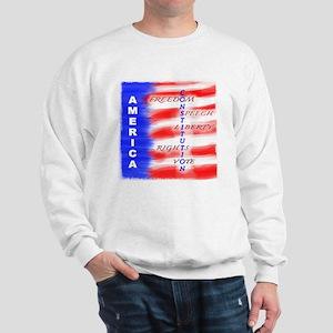 America Constitution Sweatshirt