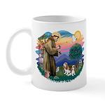 St Francis #2/ Cavalier (2 bl) Mug