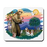 St Francis #2/ Cavalier (2 bl) Mousepad