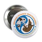 """SCG Yin Yang 2.25"""" Button (10 pack)"""