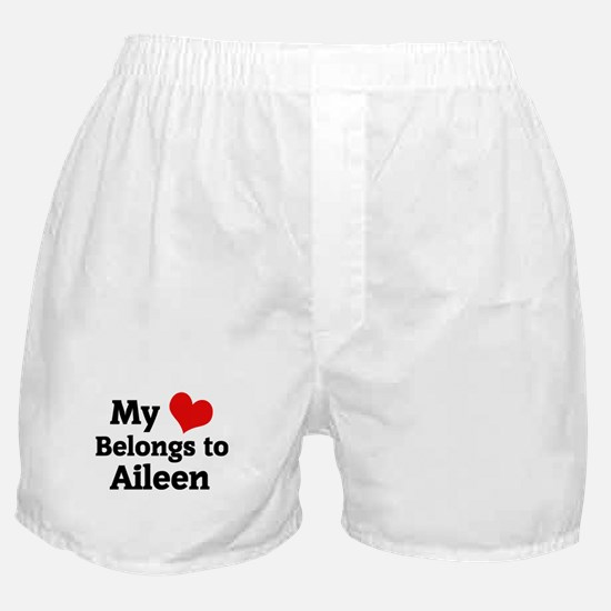 My Heart: Aileen Boxer Shorts