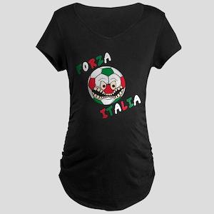 Forza Italia Maternity Dark T-Shirt