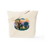 St Francis #2/ Shar Pei (#2) Tote Bag