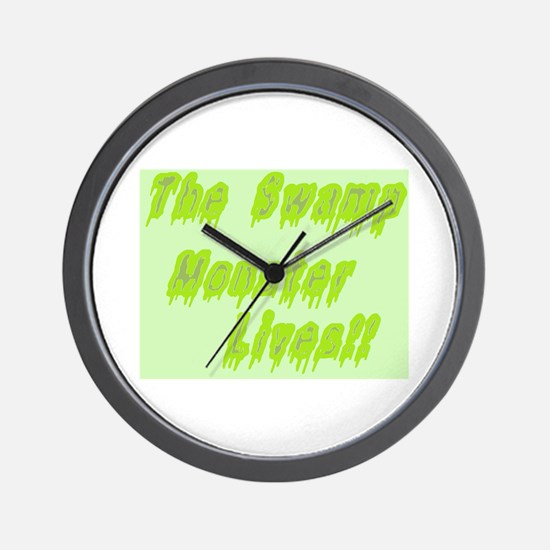 Unique Swamp thing Wall Clock