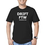 DRIFT FTW - Men's Fitted T-Shirt (dark)