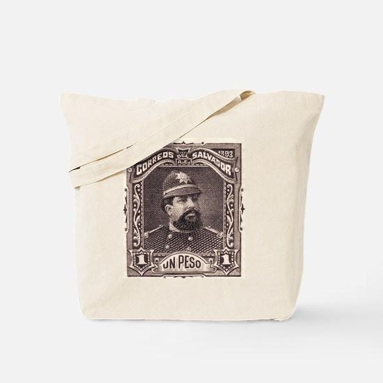 El Salvador Police 1p Tote Bag
