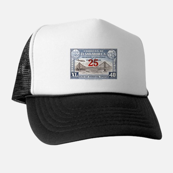 El Salvador Expo 25c Trucker Hat
