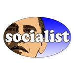 Obama is a Socialist Sticker (Oval)