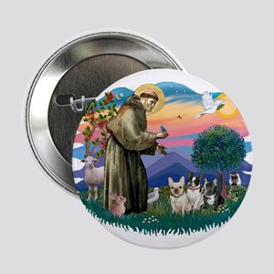 "St Francis #2/ Fr Bulldogs (3) 2.25"" Button"