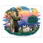 St Francis #2/ Fr Bulldogs (3) Small Poster