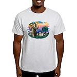 St Francis #2/ Fr Bulldogs (3) Light T-Shirt