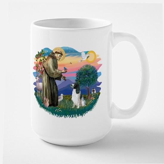 St Francis #2/ Eng Spring Large Mug