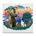 St Francis #2/ Eng Spring Tile Coaster