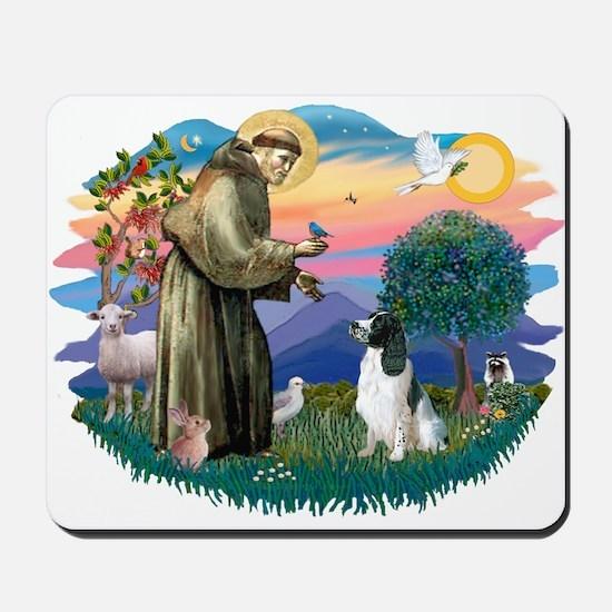 St Francis #2/ Eng Spring Mousepad