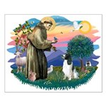 St Francis #2/ Eng Spring Small Poster