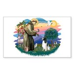 St Francis #2/ Eng Spring Sticker (Rectangle 10 pk
