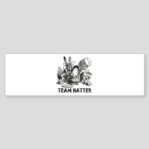 TEAM HATTER Sticker (Bumper)