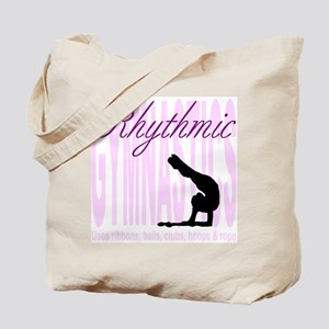 """Magenta """"Rhythmic Gymnastics"""" Tote Bag"""