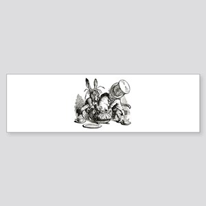 MAD HATTER'S TEA PARTY Sticker (Bumper)