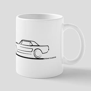 1964 65 66 Mustang Hard Top Mug