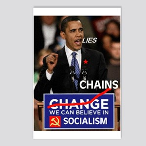 SOCIALISM IS HERE Postcards (Package of 8)