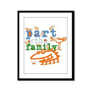Part Of The Family Framed Panel Print