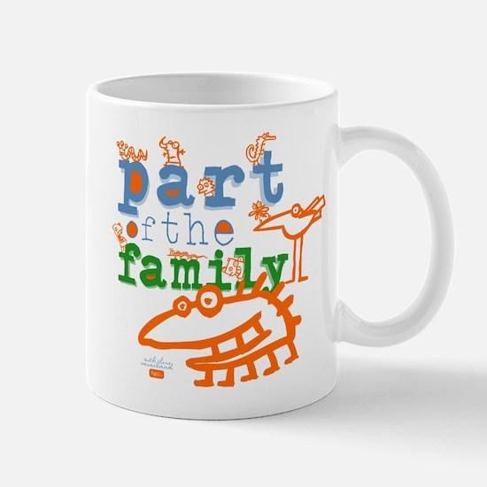 Part Of The Family Mug
