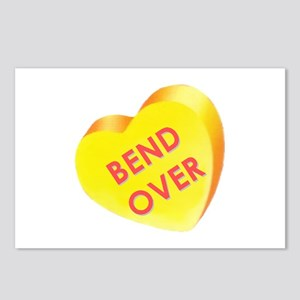 """""""Bend Over"""" Postcards (Package of 8)"""