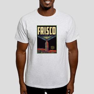 Frisco Fruit Crate Label Light T-Shirt