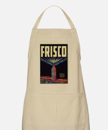 Frisco Fruit Crate Label Apron